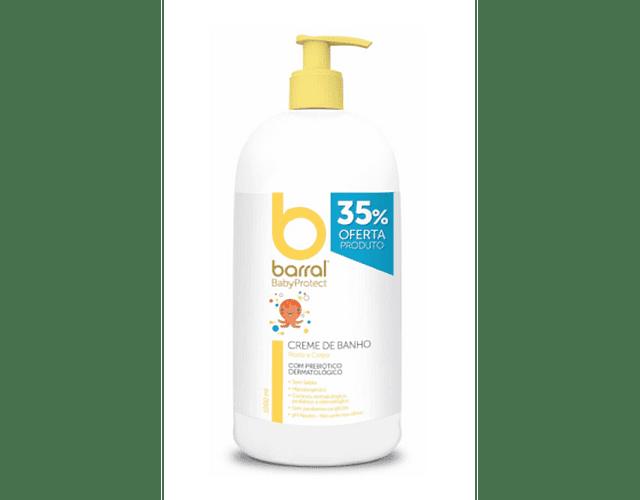 Barral Babyprotect Creme de Banho 1000 mL PREÇO ESPECIAL
