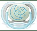 Philips Avent Chupeta Ultra Air Night 6-18 meses Menino