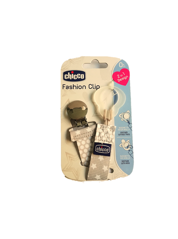 Chicco Fashion Clip Taupe