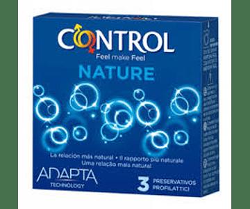 Control Preservativo Nature x 3 unidades