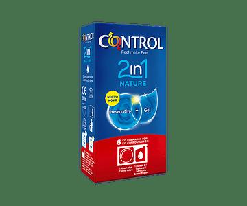 Control Nature Preservativo 2in1 x 6 unidades