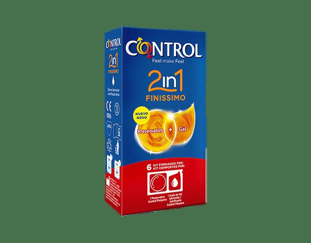 Control Preservativo Finíssimo 2in1 x 6 unidades