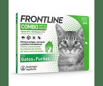 Frontline Combo Spot-On Gato 0,5 mL x 3 pipetas