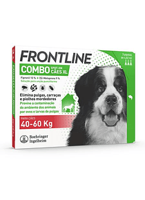 Frontline Combo Cão 40-60 kg 4,02 mL x 3 pipetas