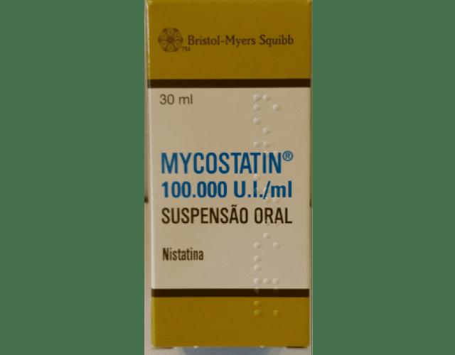 Mycostatin (30mL) 100000 UI/mL x 1 susp oral mL
