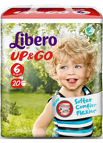 Libero Fralda Up & Go (T6)