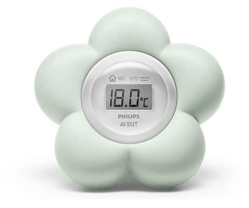 Philips Avent Termómetro Digital para o Banho e Quarto Verde