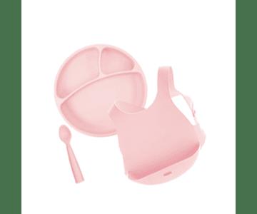 Minikoioi Conjunto Alimentação - Rosa
