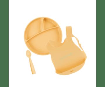 Minikoioi Conjunto Alimentação - Amarelo