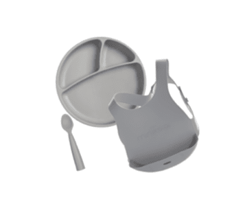 Minikoioi Conjunto Alimentação - Cinza