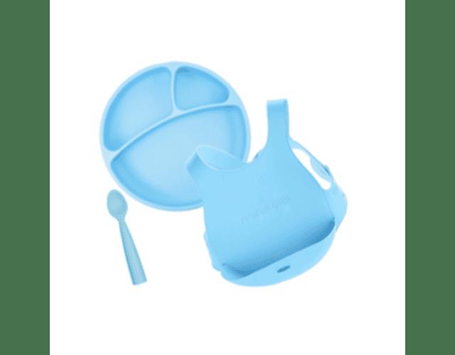 Minikoioi Conjunto Alimentação - Azul