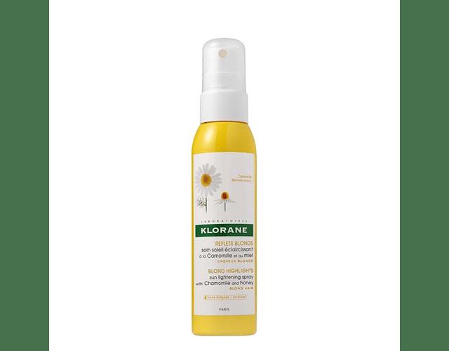 Klorane Capilar Spray Cuidado Aclarador Camomila 125 mL