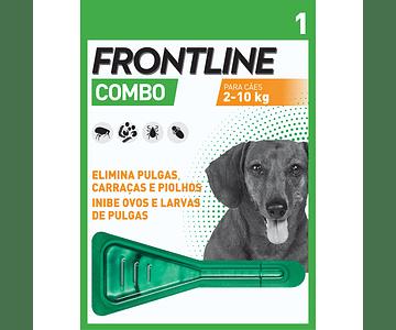 Frontline Combo Cão 2-10kg 0,67 mL x 1 pipeta