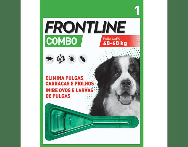Frontline Combo Cão 40-60kg 4,02 mL x 1 pipeta