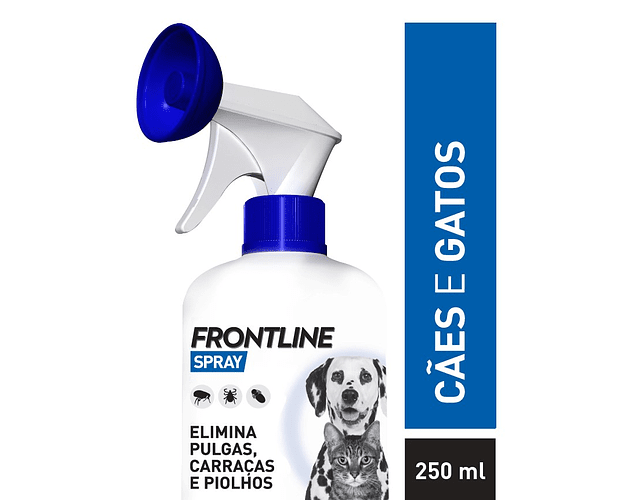 Frontline Spray 2,5 mg/mL 250 mL - Cães e Gatos