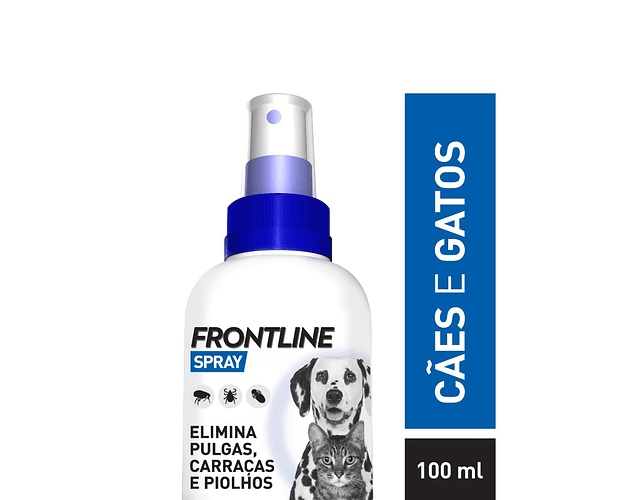 Frontline Spray 2,5 mg/mL 100 mL - Cães e Gatos