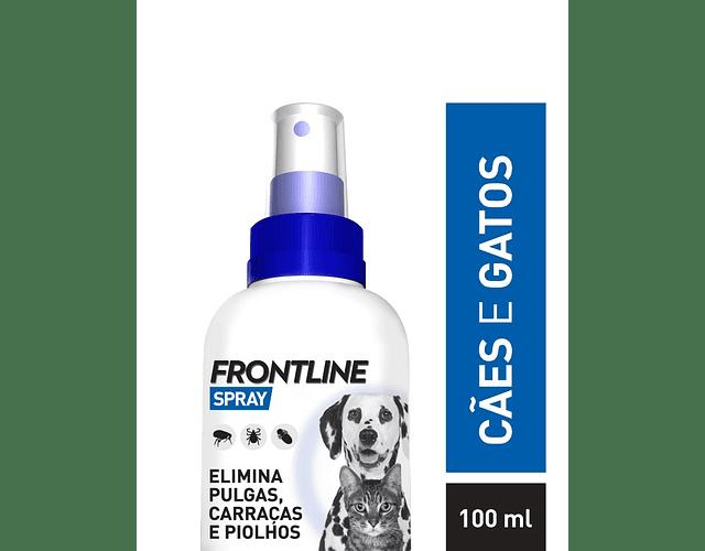 Frontline Spray 2,5 mg/mL 100 mL - Cães e Gatos