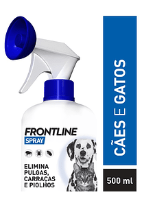 Frontline Spray 2,5 mg/mL 500 mL - Cães e Gatos