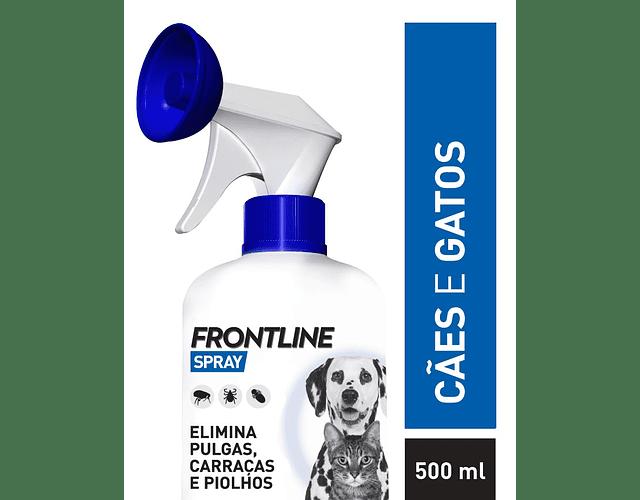 Frontline Spray 2,5 mg/mL 500 mL - Cães e Gatos