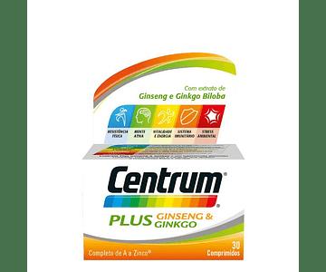 Centrum Plus Ginseng Ginkgo x 30 comprimidos