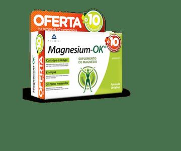 Magnesium-OK 30 Unidade(s) Comprimidos com Oferta de Comprimidos 10 Unidade(s)