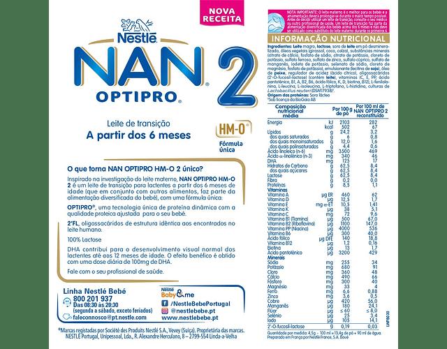 Nestlé NAN OPTIPRO 2 800 g