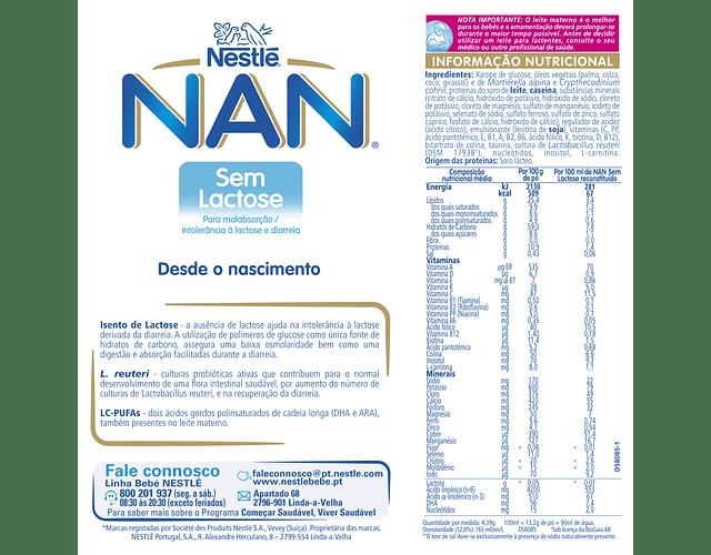 Nestlé NAN Sem Lactose 400g