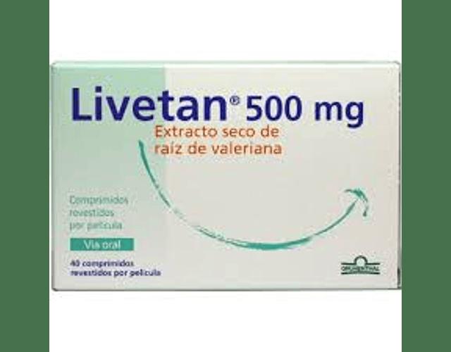 Livetan, 500 mg x 40 comp rev