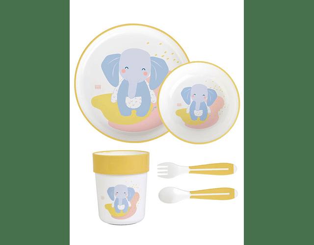Saro Conjunto Papa Elefante