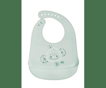 Saro Babete Silicone - Verde Claro
