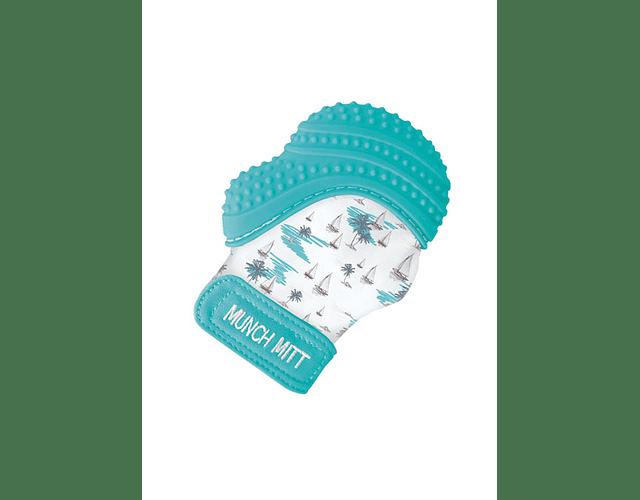 Saro Luva de Dentição Azul