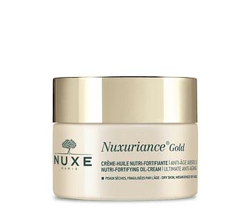 Nuxe Nuxuriance Gold Creme Dia Nutri-Fortificante Anti-Idade 50 mL