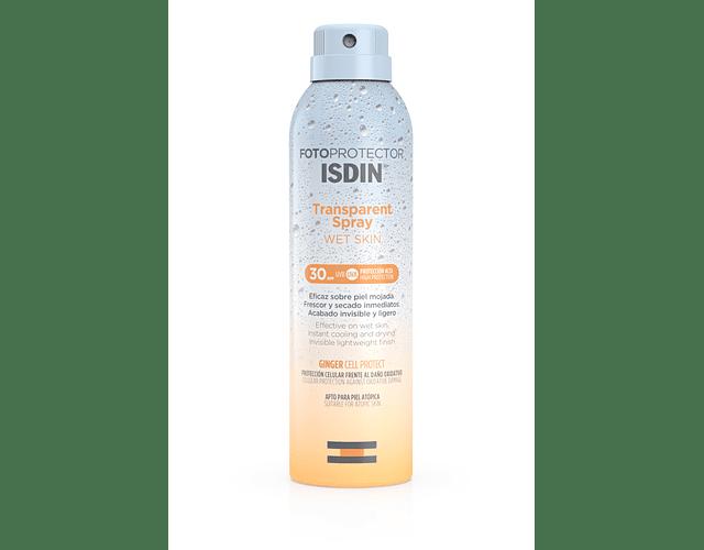 ISDIN Fototrotect Wet Skin Transparent Spray FPS 30 250 mL