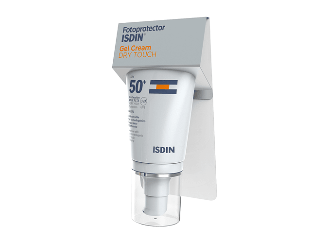 ISDIN Fotoprotect Gel Creme Dry Touch Sem Cor SPF50+ 50 mL