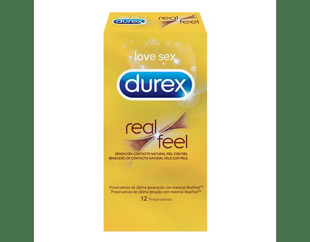 Durex Preservativo Real Feel x 12 unidades