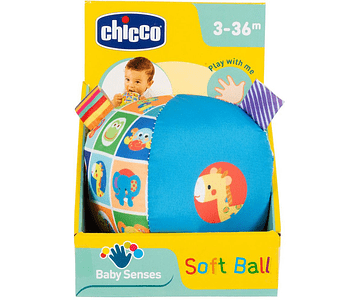 Chicco Bola Suave +3M