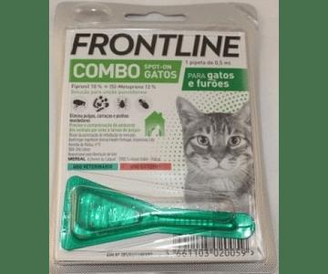 Frontline Combo Spot-On Gatos e Furões 0,5 mL x 1 pipeta