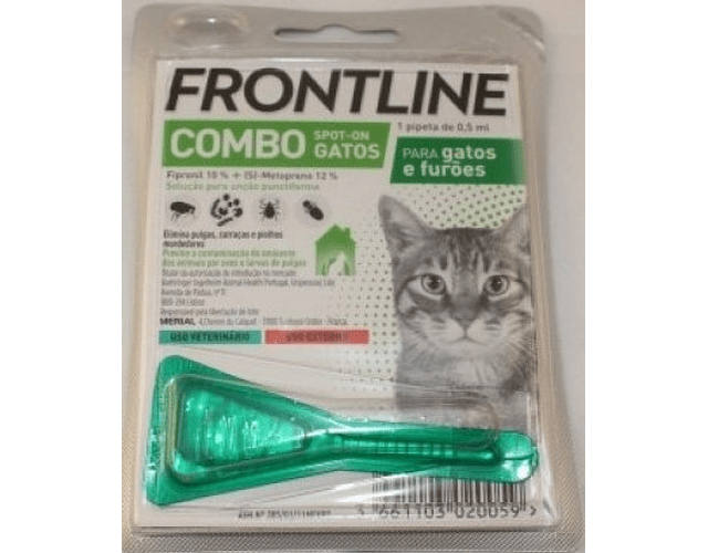 Frontline Combo Spot-On Gatos e Furões 0,5 mL x 1 pipeta