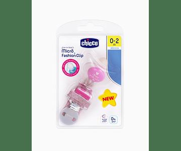 Chicco Pack Physio Micro Chupeta Silicone + Fashion Clip Menina 0-2M