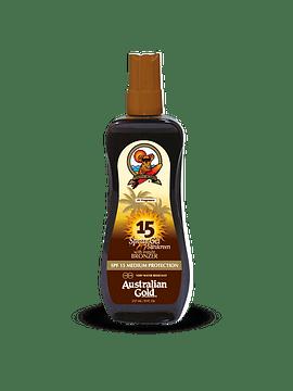 Australian Gold Spray Gel Sunscreen SPF 15  237 Ml