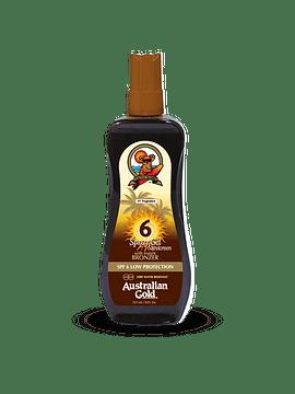 Australian Gold Spray Gel Sunscreen SPF 6 237 Ml