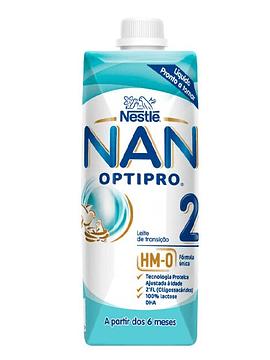 NAN Optipro 2 Leite de Transição 6M+  500 Ml