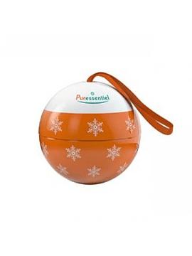 Puressentiel Bola de Natal laranja com Difusor medalhão em cerâmica + Óleo essencial de limão 10 ml com Desconto
