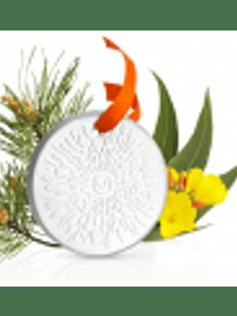 Puressentiel Kit Difusão Natal Mistura Relaxamento Óleos essenciais 30 ml com Oferta Difusor medalhão em cerâmica