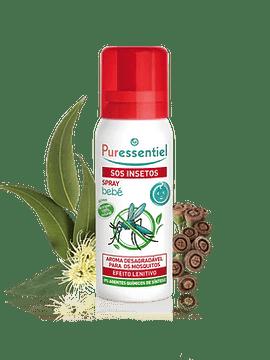 Puressentiel SOS Insetos Spray Bebé 60 ML