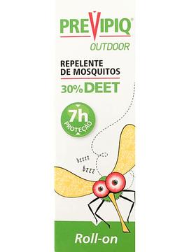 Previpiq Outdoor Repelente de Mosquitos 30% Deet Roll-on 50 Ml