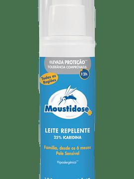 Moustidose Leite Repelente Hidratante Anti-Mosquitos 125 Ml