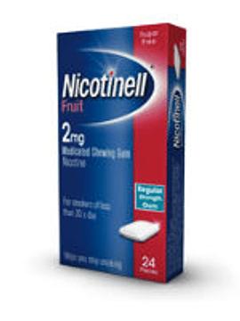 Nicotinell Fruit, 2 mg x 24 goma
