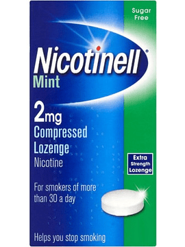 Nicotinell Mint, 2 mg x 36 pastilhas