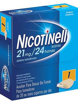 Nicotinell, 21 mg/24 h x 28 Sistema Transdérmico